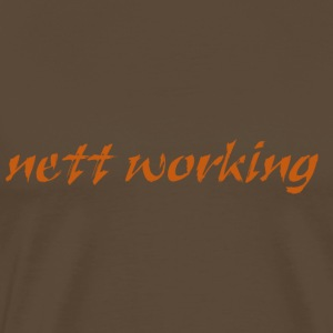 nett_working - Männer Premium T-Shirt
