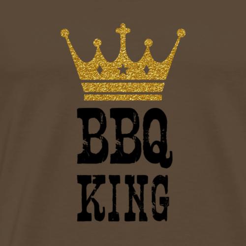 BBQ King - Mannen Premium T-shirt