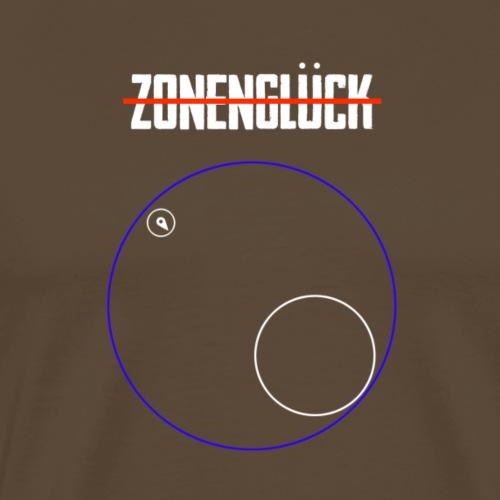 Zonenglück ... nicht! - Männer Premium T-Shirt