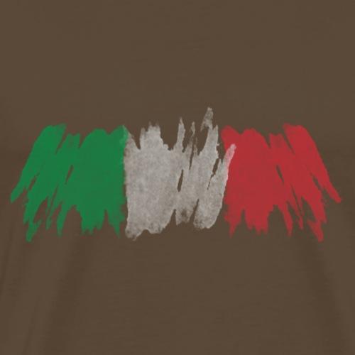 Italy flag, Italienische Flagge - Männer Premium T-Shirt