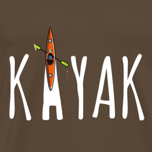 KAJAK - Comic - Männer Premium T-Shirt