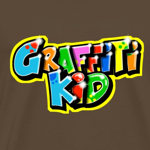 Graffitikid : Graffiti Personnalisé - T-shirt Premium Homme