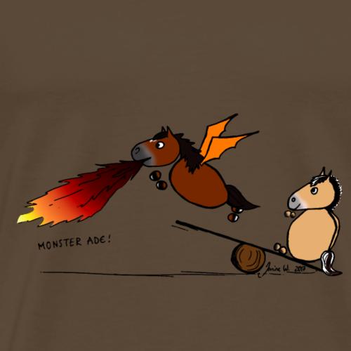 Der Halbdrache und die Norwegerin - Männer Premium T-Shirt