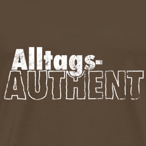 AlltagsAUTHENT weiß - Männer Premium T-Shirt