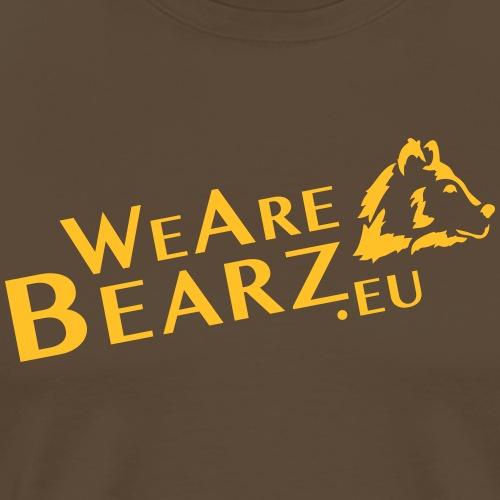 WeAreBearz.eu - site web - T-shirt Premium Homme
