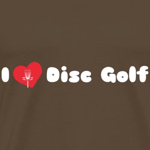 I Love Disc Golf II - Männer Premium T-Shirt