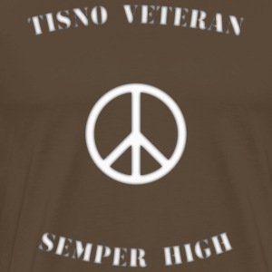 Tisno Veteran Semper High wht - Men's Premium T-Shirt