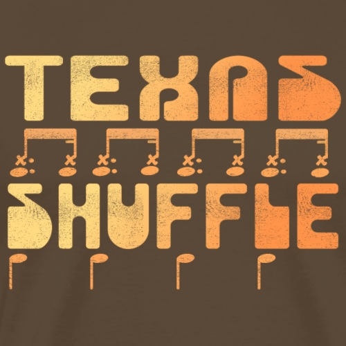 Drummer T-Shirt - Texas Shuffle - Männer Premium T-Shirt