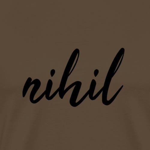 nihil - Camiseta premium hombre