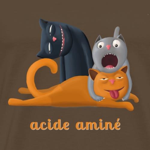 acide aminé - T-shirt Premium Homme
