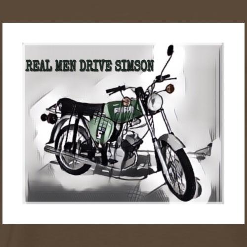 Real mein Drive Simson! - Männer Premium T-Shirt