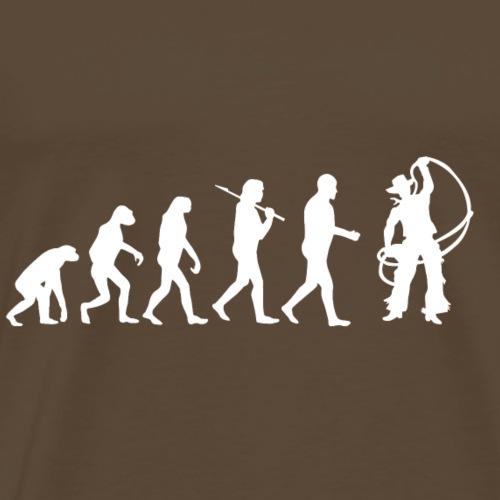 Cowboy Countrymusik Country Line Dance Evolution - Männer Premium T-Shirt