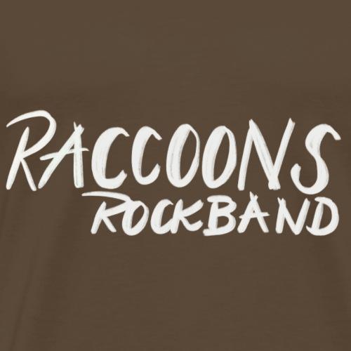 Raccoons Rockband - Männer Premium T-Shirt