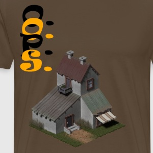 3D house - Men's Premium T-Shirt