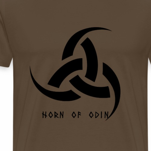 The Triple Horn Of Odin - T-shirt Premium Homme
