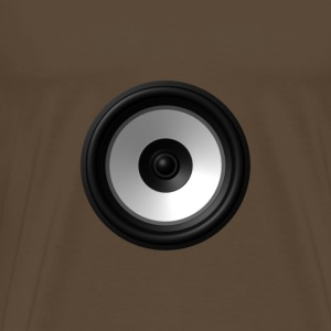 Audio Speaker Mode - Mannen Premium T-shirt