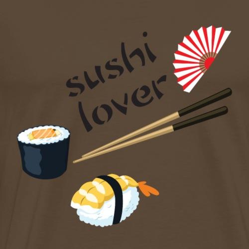 Sushi Lover - Maglietta Premium da uomo