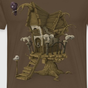 Treehouse - Premium T-skjorte for menn