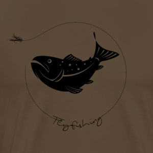 troutfly - Premium T-skjorte for menn