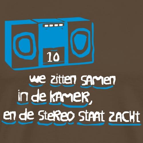 Suzanne - de stereo staat zacht - Mannen Premium T-shirt