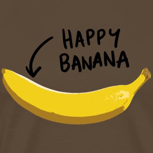 Happy Bananas - Männer Premium T-Shirt