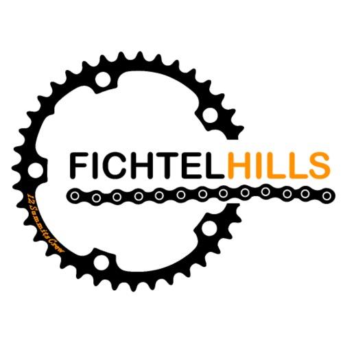 Fichtelhills Ritzel - Männer Premium T-Shirt