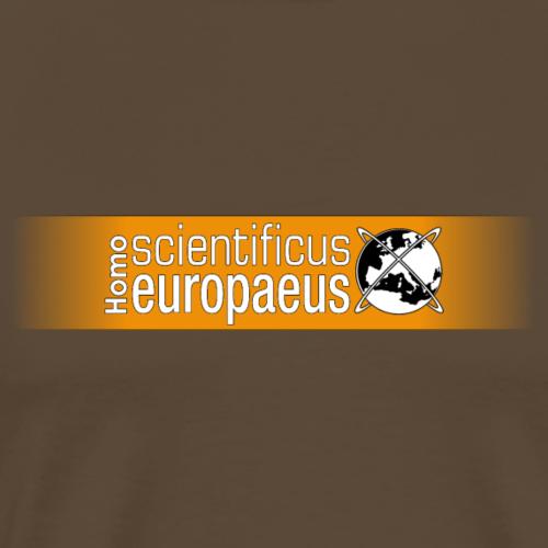 Homo scientificus Europaus logo - Men's Premium T-Shirt