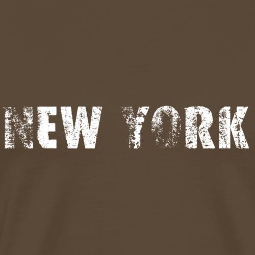 2571 New York - Männer Premium T-Shirt