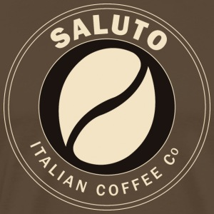 Saluto Coffee Edinburgh - T-shirt Premium Homme