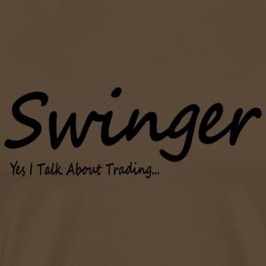 SwingTrader - Men's Premium T-Shirt