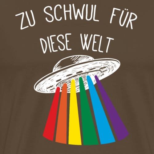 Zu schwul für diese Welt - Männer Premium T-Shirt