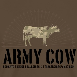 Army cow - Men's Premium T-Shirt