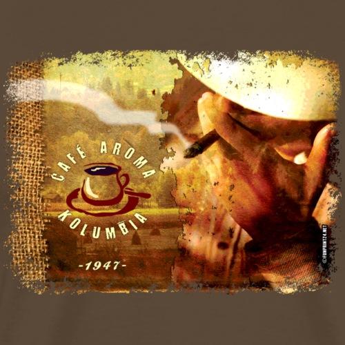 06-30 Cafeman series - Miesten premium t-paita