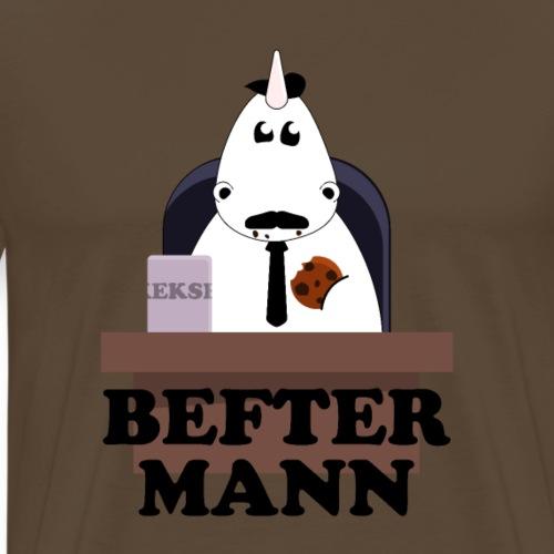 Befter Mann Einhorn - Männer Premium T-Shirt