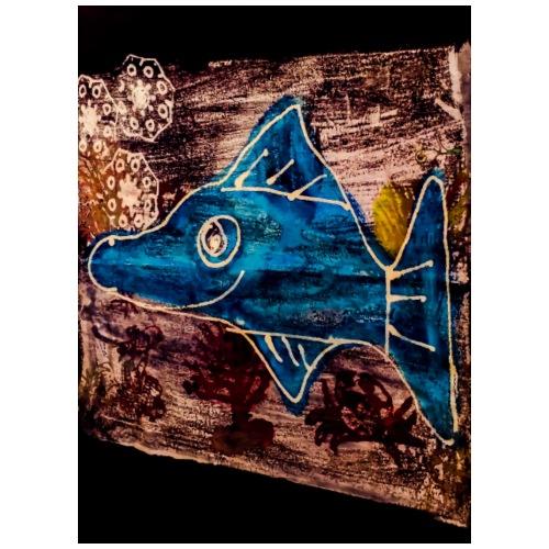 PSX 20180628 212347 Hai Fisch - Männer Premium T-Shirt