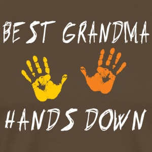 Meilleure grand-maman Hands Down - T-shirt Premium Homme