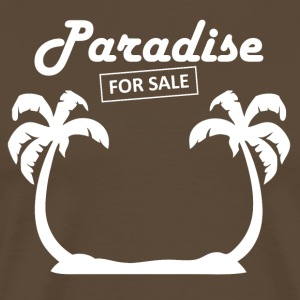Paradise4sale wite - Men's Premium T-Shirt