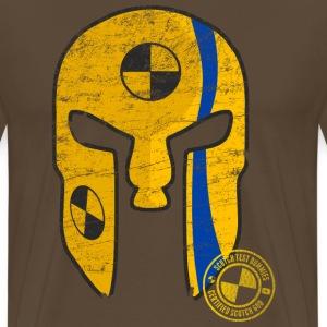 Scotch Test Dummies - Scotch God Helmet - Men's Premium T-Shirt