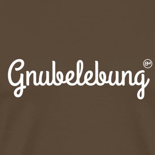 Gnubelebung (Palindrom) - Männer Premium T-Shirt