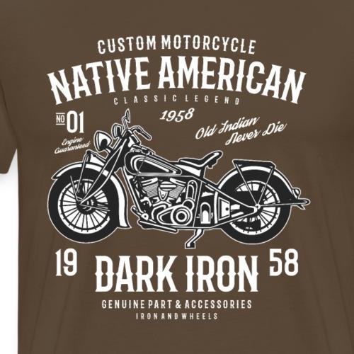 Dark Iron - Männer Premium T-Shirt