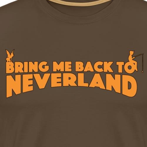BACK2NEVERLAND - T-shirt Premium Homme