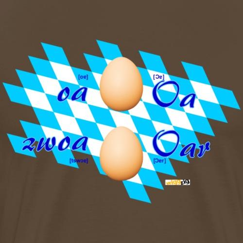 oar - eier - Männer Premium T-Shirt