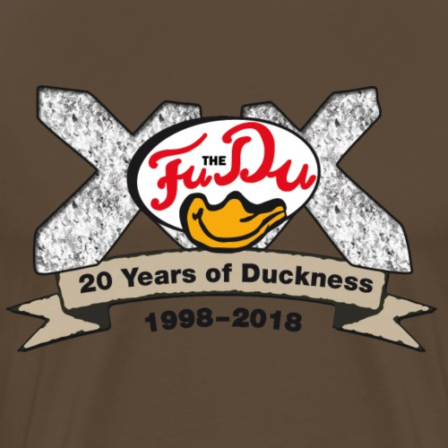 20 Jahre FuTheDu - Männer Premium T-Shirt