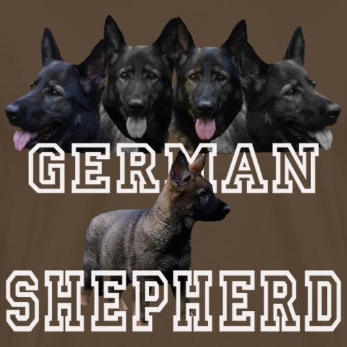 Schäferhund,Hundesport,Hundekopf,Hund,Hunde,Welpe, - Männer Premium T-Shirt