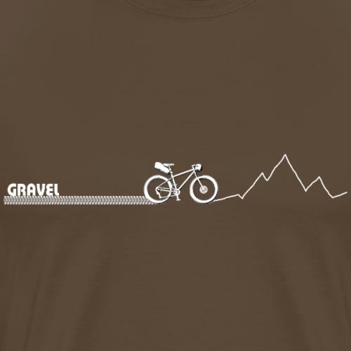 Logo Gravel - T-shirt Premium Homme