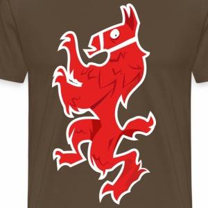 Llama Fortnite - T-shirt Premium Homme