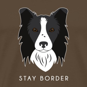 Border-Collie - Männer Premium T-Shirt