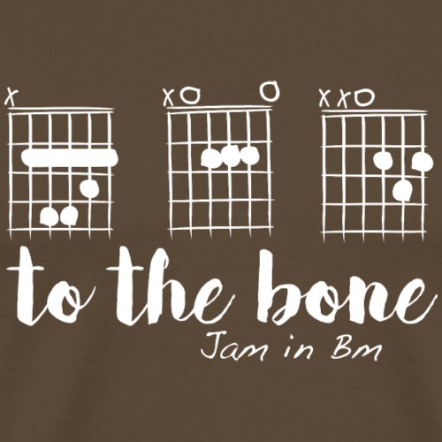B A D to the bone - T-shirt Premium Homme