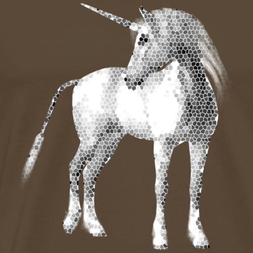 Einhorn aus Kacheln - Männer Premium T-Shirt