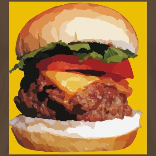 Cheeseburger - Männer Premium T-Shirt